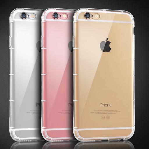 เคสยาง ใส กันกระแทก C - เคส iPhone 6 / 6S