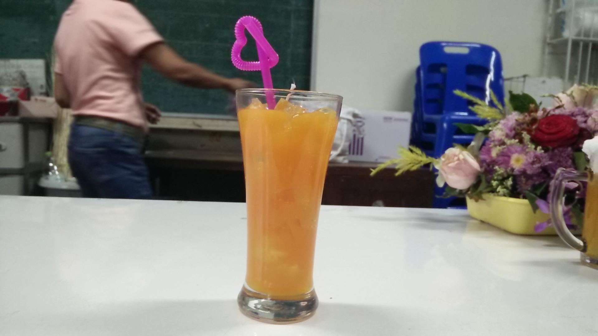 เทียนน้ำส้มคั้น