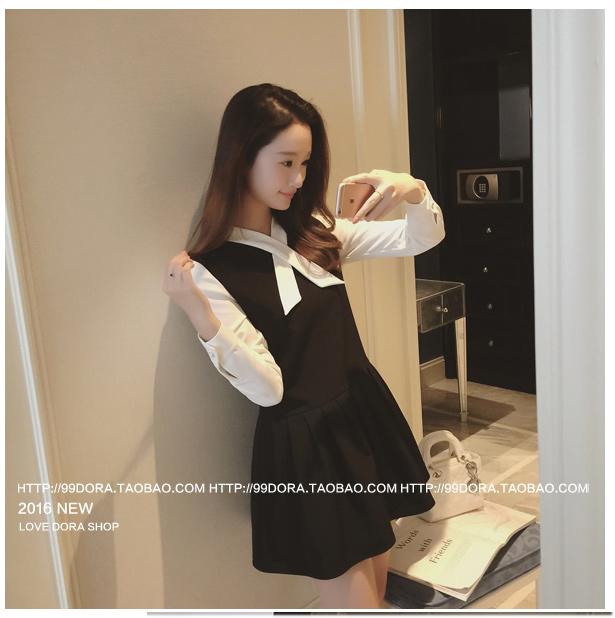 รับตัวแทนจำหน่ายชุดเดรสทำงานแฟชั่นเกาหลีสีดำสวยๆ