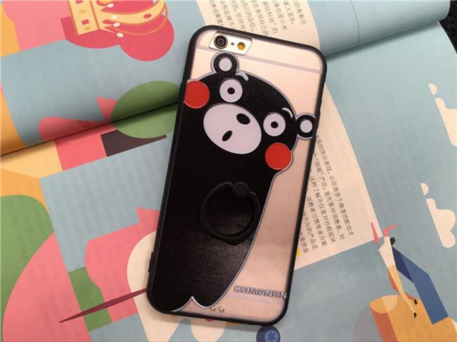 ขอบยาง มีขาตั้ง วันพีช หมีคุมะมง และอื่นๆ - เคส iPhone6 Plus / 6S Plus