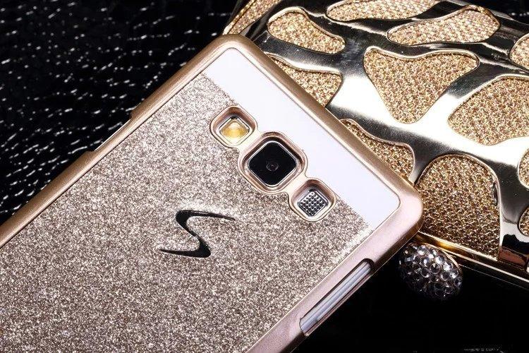 เคสกากเพชร (เคสแข็ง) - Galaxy A7