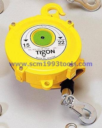 Tigon ไทกอน รุ่น TW-22 สปริงบาลานเซอร์ รอกสปริง 15.0-22.0 kg. Spring Balancer
