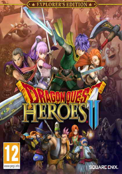 Dragon Quest Heroes 2 (4DVD)