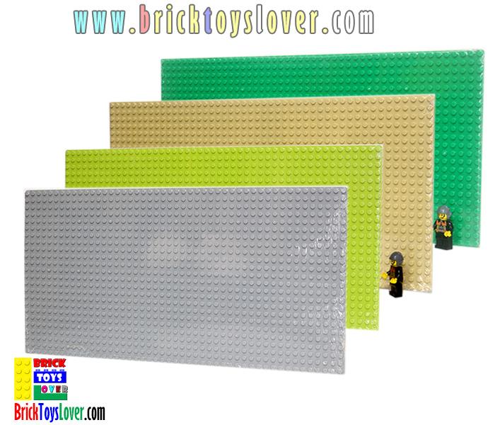 8803 แผ่น Plate ขนาด 38.5x19 Cm.สำหรับเป็นฐานในการต่อ Blocks