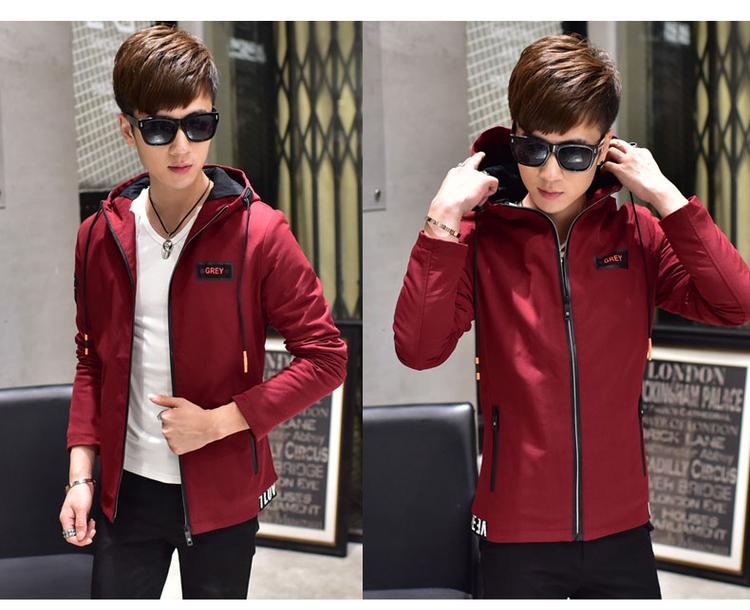 เสื้อกันหนาว แนวเกาหลี ด้านในมีกระเป๋าอีกด้าน และบุด้วยผ้าหนา