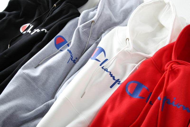 เสื้อ Champion Hoodie Logo