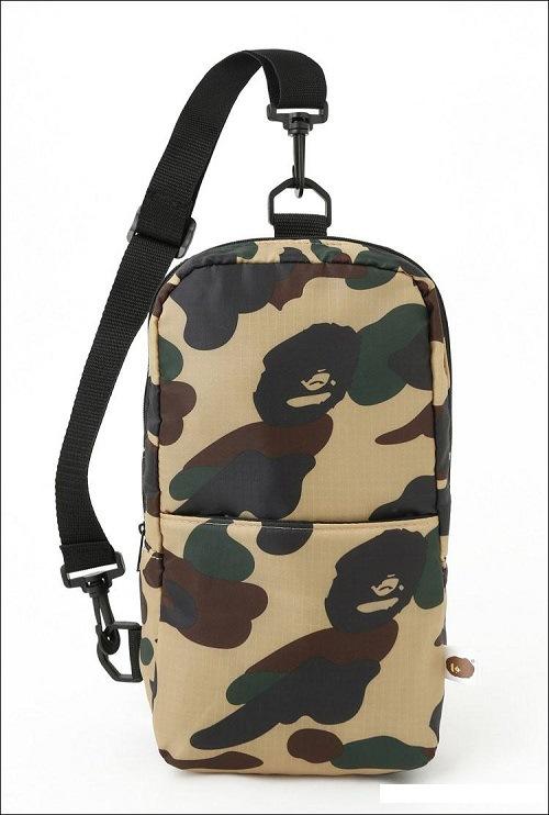 กระเป๋า BAPE®CAMO Body Bag x A BATHING APE® 2015 SUMMER COLLECTION