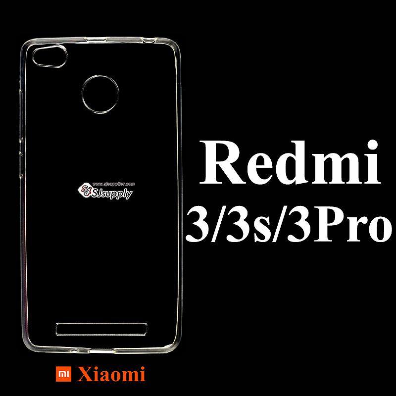 เคส Xiaomi Redmi 3 ซิลิโคน สีใส