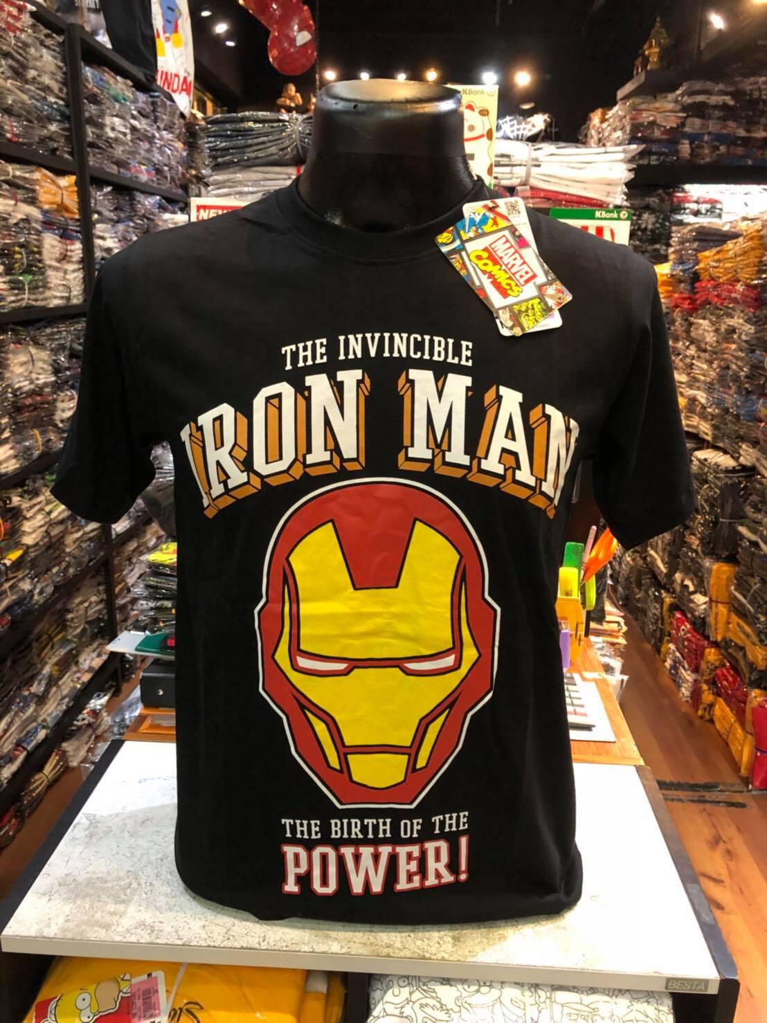 ไอรอนแมน สีดำ (Iron man the birth of power black CODE:1143)