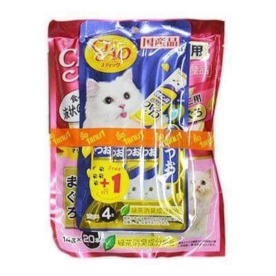 ครีมแมวเลีย ciao save pack ลูกแมว สองแพค540รวมส่ง