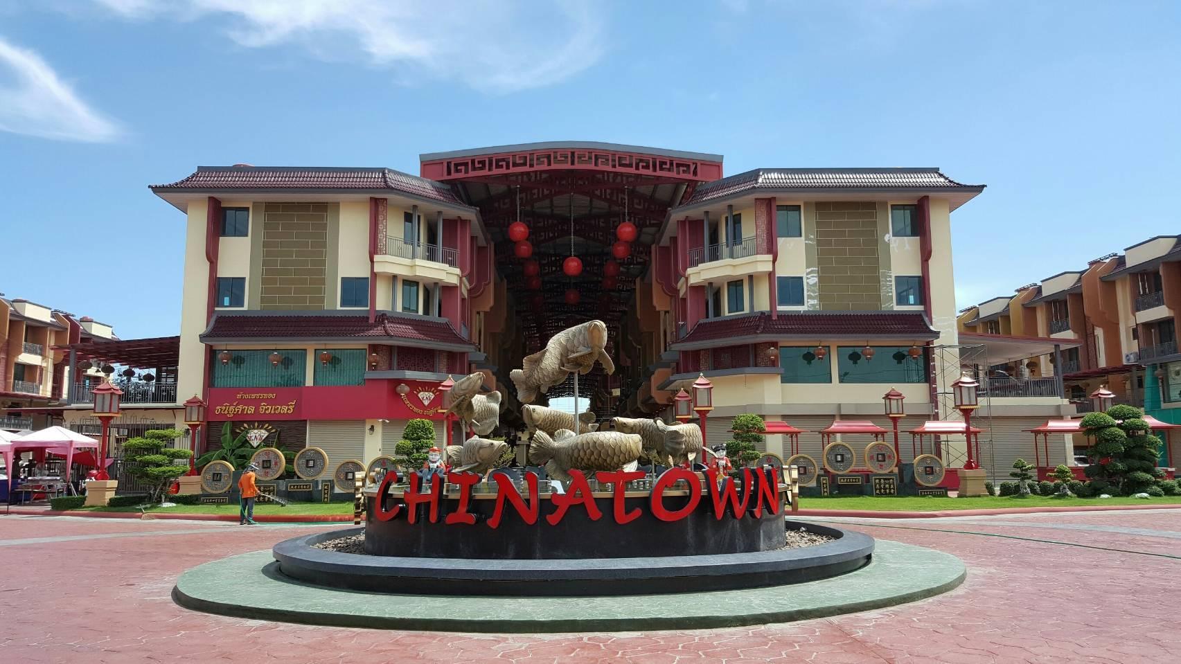 อาคารพาณิชย์ 4 ชั้น (NEW) ในโครงการ China Town Westend Salaya