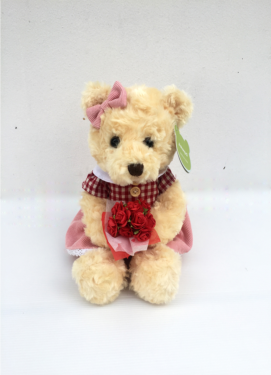 ตุ๊กตาหมีผู้หญิง รหัส 4729