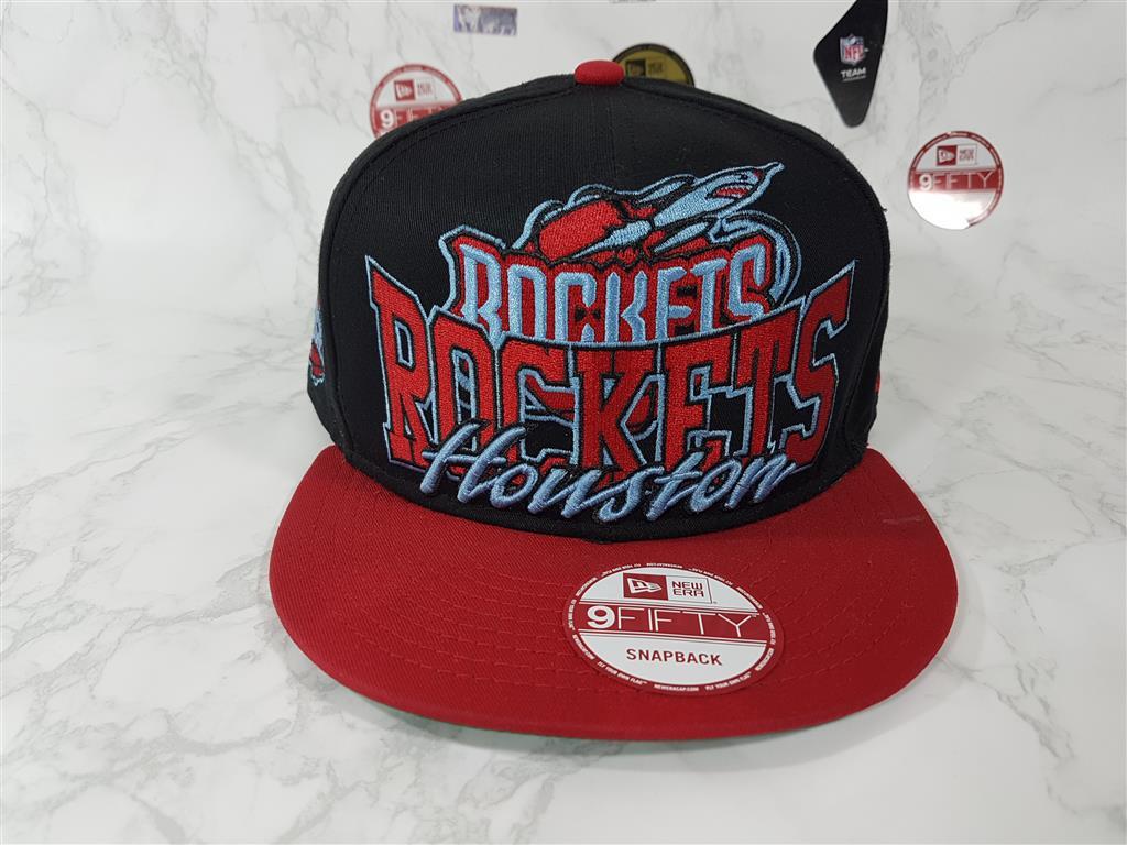 New Era NBA ทีม Houston Rockets ฟรีไซส์ Snapback