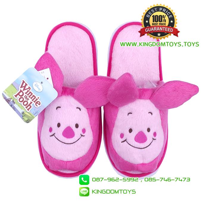 รองเท้า Piglet Who are You พื้นบาง [Disney]