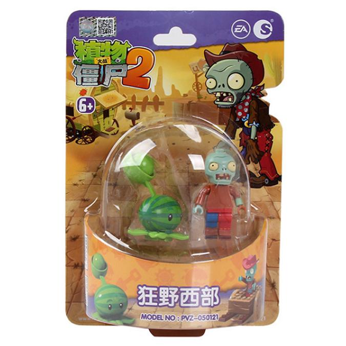 เลโก้ซอมบี้ แตงโม+ซอมบี้ กล่องเล็ก [Plants vs. Zombie]