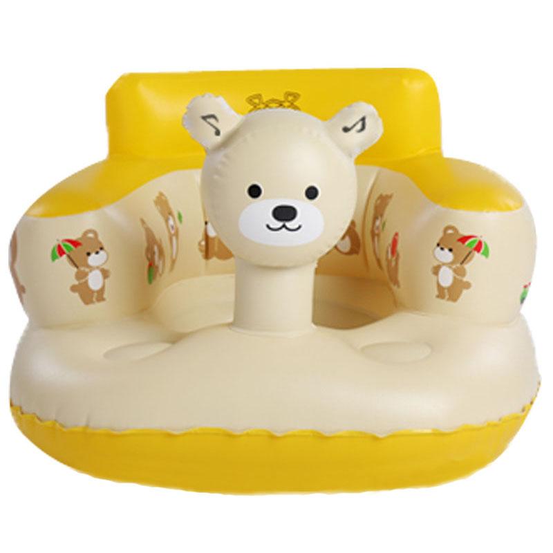 เก้าอี้หัดนั่งเป่าลม หมีน้อย