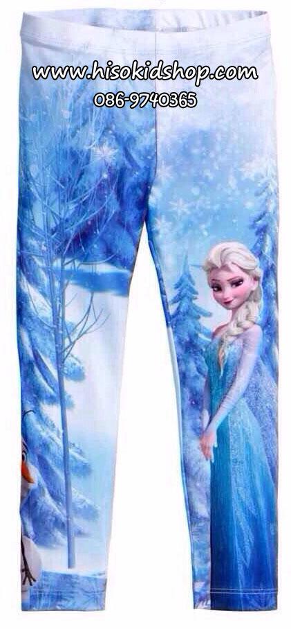 1071 H&M Frozen Legging- Blue ขนาด 2-4 ปี