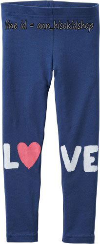 1752 Carter Love Leggings - Blue ขนาด 6 ปี