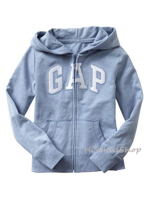 1674 Gap Kids Arch Logo Hoodies - Sky Blue ขนาด 8,10-11 ปี - ส่งฟรี ลทบ.