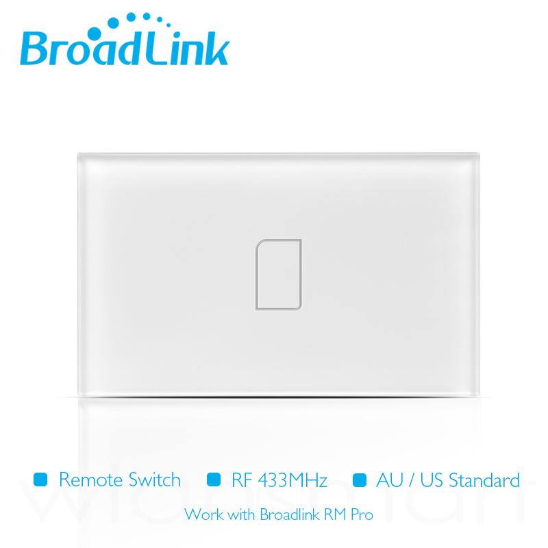 ฺBroadLink สวิตไฟฟ้าระบบสัมผัส 1 ปุ่มกด