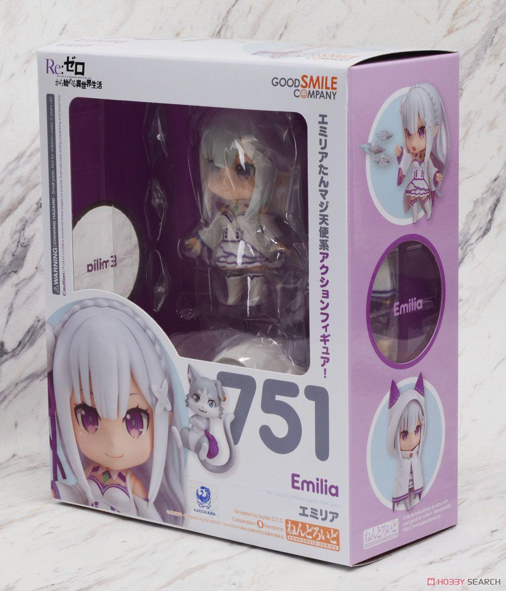 (เหลือ 1 ชิ้น รอเมล์ฉบับที่2 ยืนยัน ก่อนโอน) Nendoroid Emilia (PVC Figure)