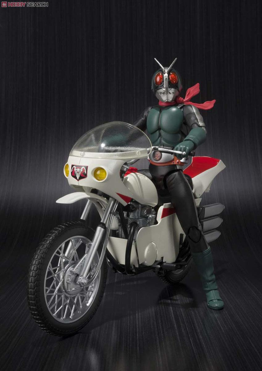 S.H.Figuarts Kamen Rider Old 2nd & Cyclone (Remodeling Ver.) Set