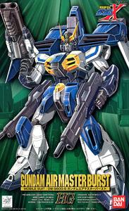 Hg 1/100 GW-9800-B Gundam Air Master Burst (1/100) (Gundam Model Kits)