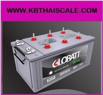 Globatt INVA แบตเตอรี่สำหรับเก็บพลังงานแสงอาทิตย์ ชนิด Deep Cycle เกรดระดับพรีเมี่ยม จ่ายกระแสไฟ (CCA) ได้สูงกว่าแบตเตอรี่ทั่วไป Globatt INVA 120AH