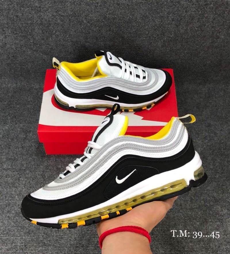 nike air max 97 black yellow