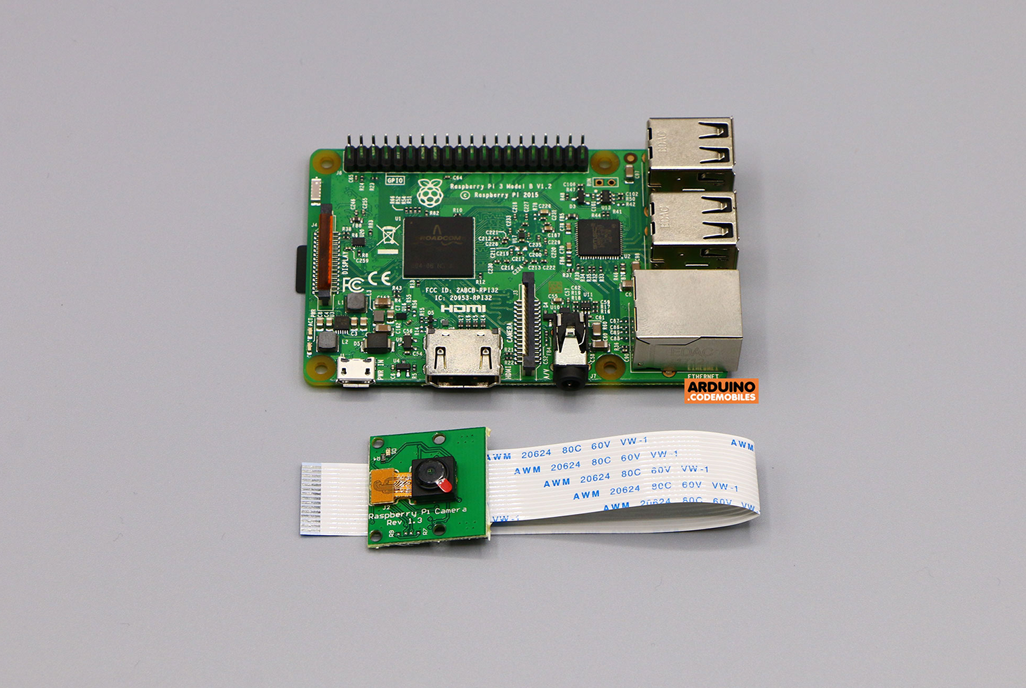 Raspberry Pi 3 Model B+ with CameraPi (non official)