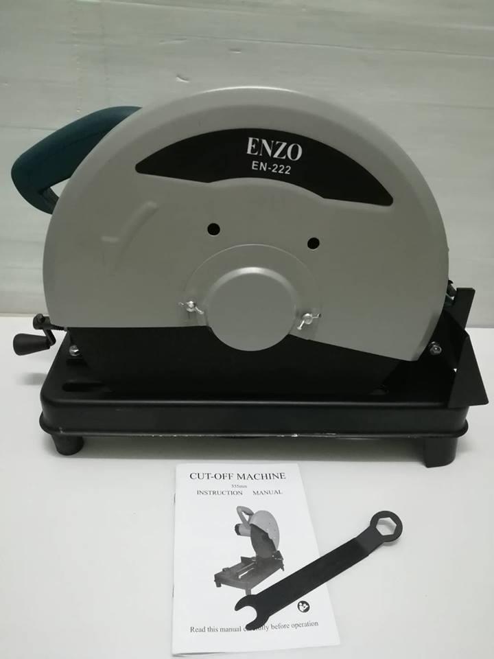 ไฟเบอร์ตัดเหล็ก .ENZD EN-222 มอเตอร์ ทองแดงแท้ 100% แถมฟรีใบตัดเหล็ก14นิ้ว 1แผ่น