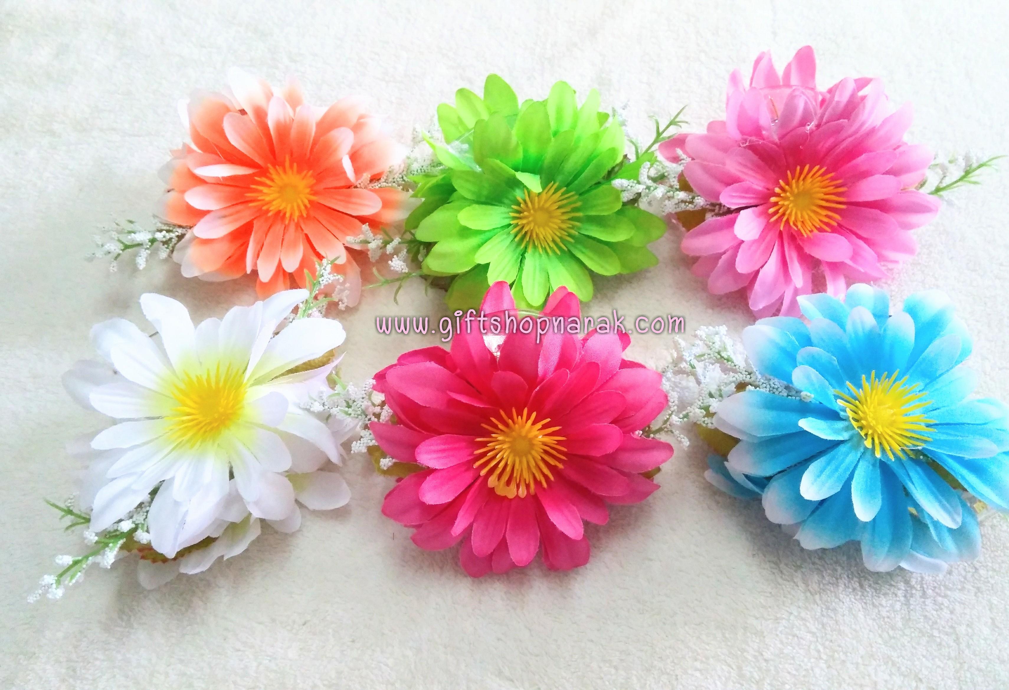 ที่หนีบผมดอกไม้