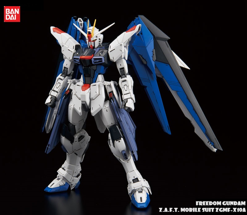 FREEDOM GUNDAM Z.A.F.T. MOBILE SUIT ZGMF-X10A MG 1/100