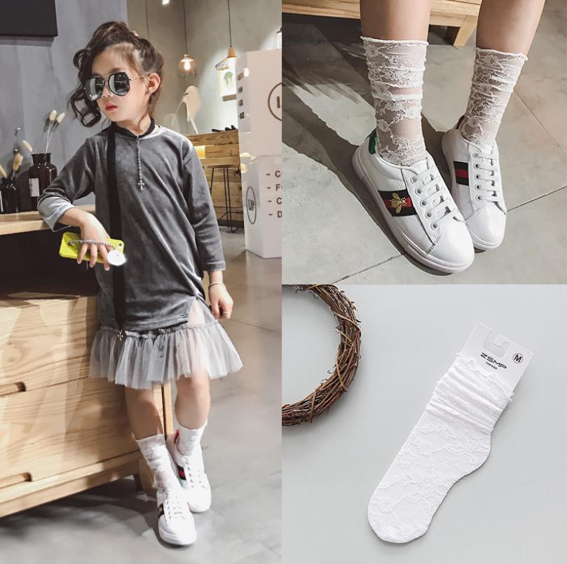 ถุงเท้ายาว สีขาว แพ็ค 10 คู่ ไซส์ S (ประมาณ 1-3 ปี)