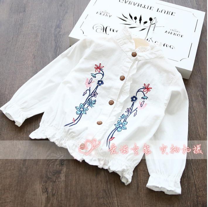 เสื้อ สีขาว แพ็ค 6 ชุด ไซส์ 80-90-100-110-120-130