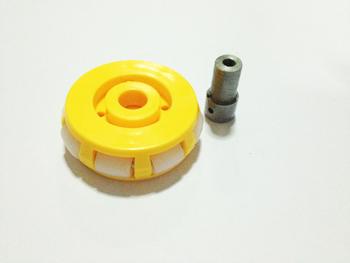 ล้อ OMNI สีเหลือง แบบ 1 ชั้น (ไม่รวมบู๊ชล้อ)