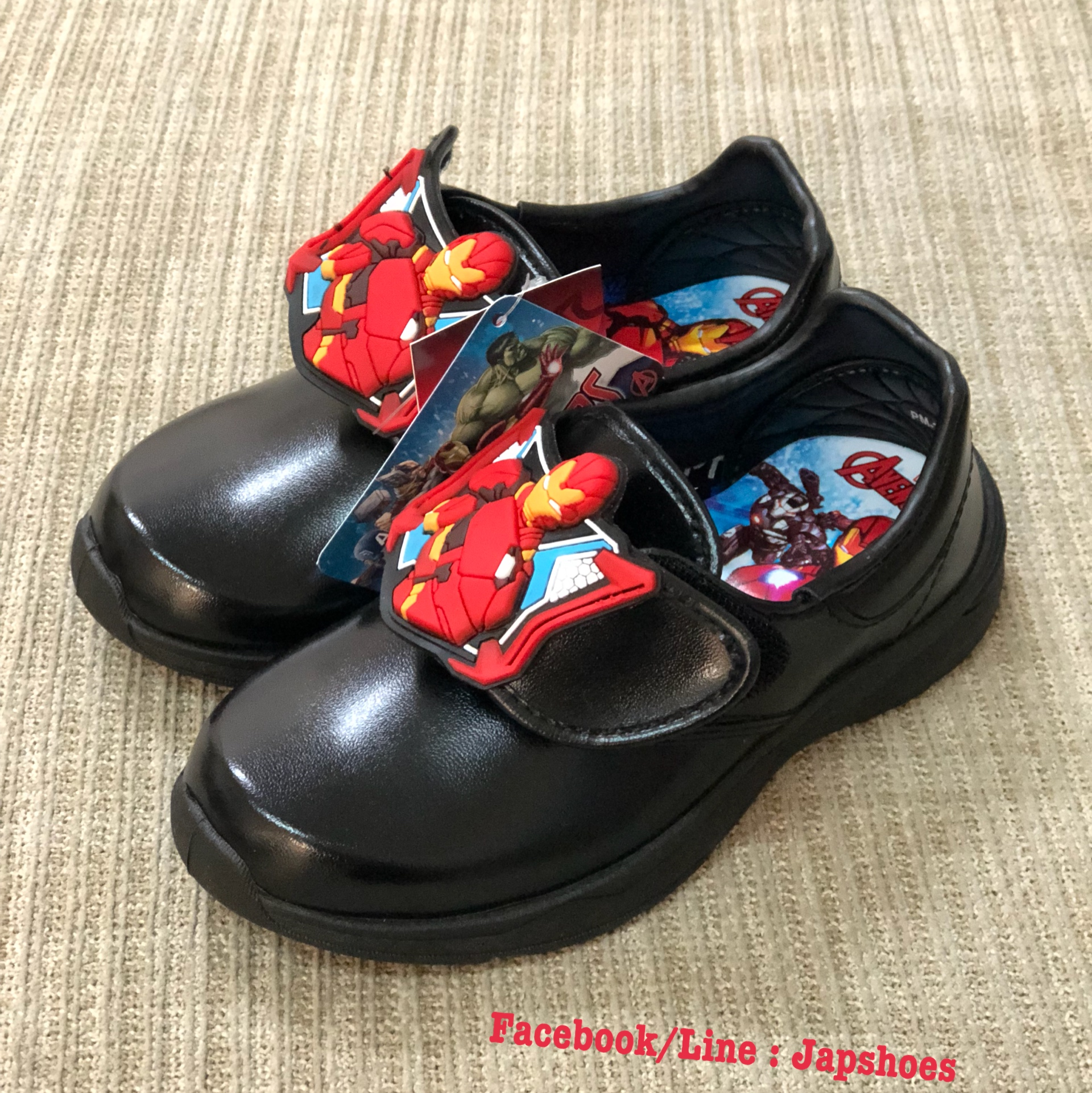 รองเท้านร อนุบาลชาย Ironman(Popman)