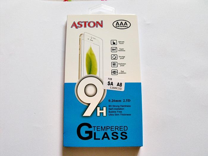 ฟิล์มกระจก Samsung A8 (ASTON)