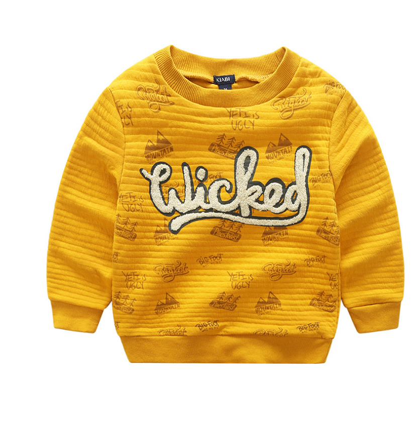 เสื้อ สีเหลือง แพ็ค 6 ชุด ไซส์ 90-100-110-120-130-140
