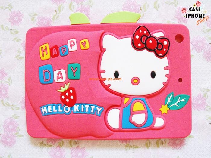 เคสซิลิโคน 3D Hello Kitty ipad mini