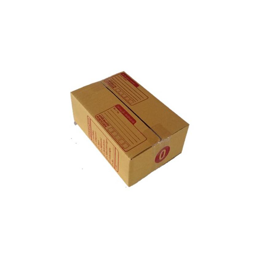 กล่องสีฝาชน สีน้ำตาลเข็ม KA กล่องราคาประหยัด