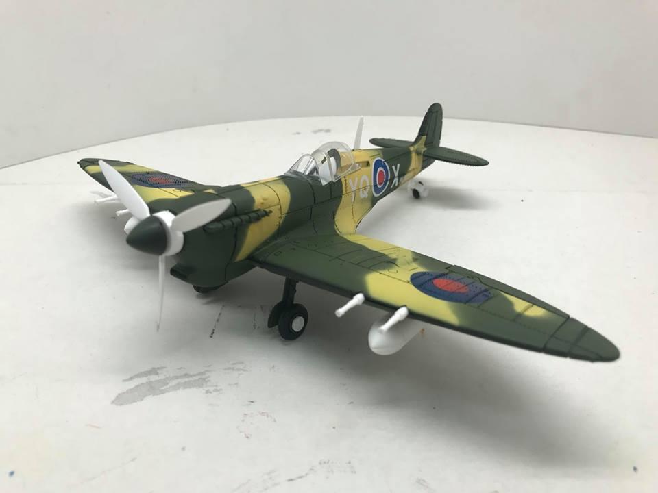 4D Model Aircraft Figther โมเดลเครื่องบินรบ Spitfire แบบ F