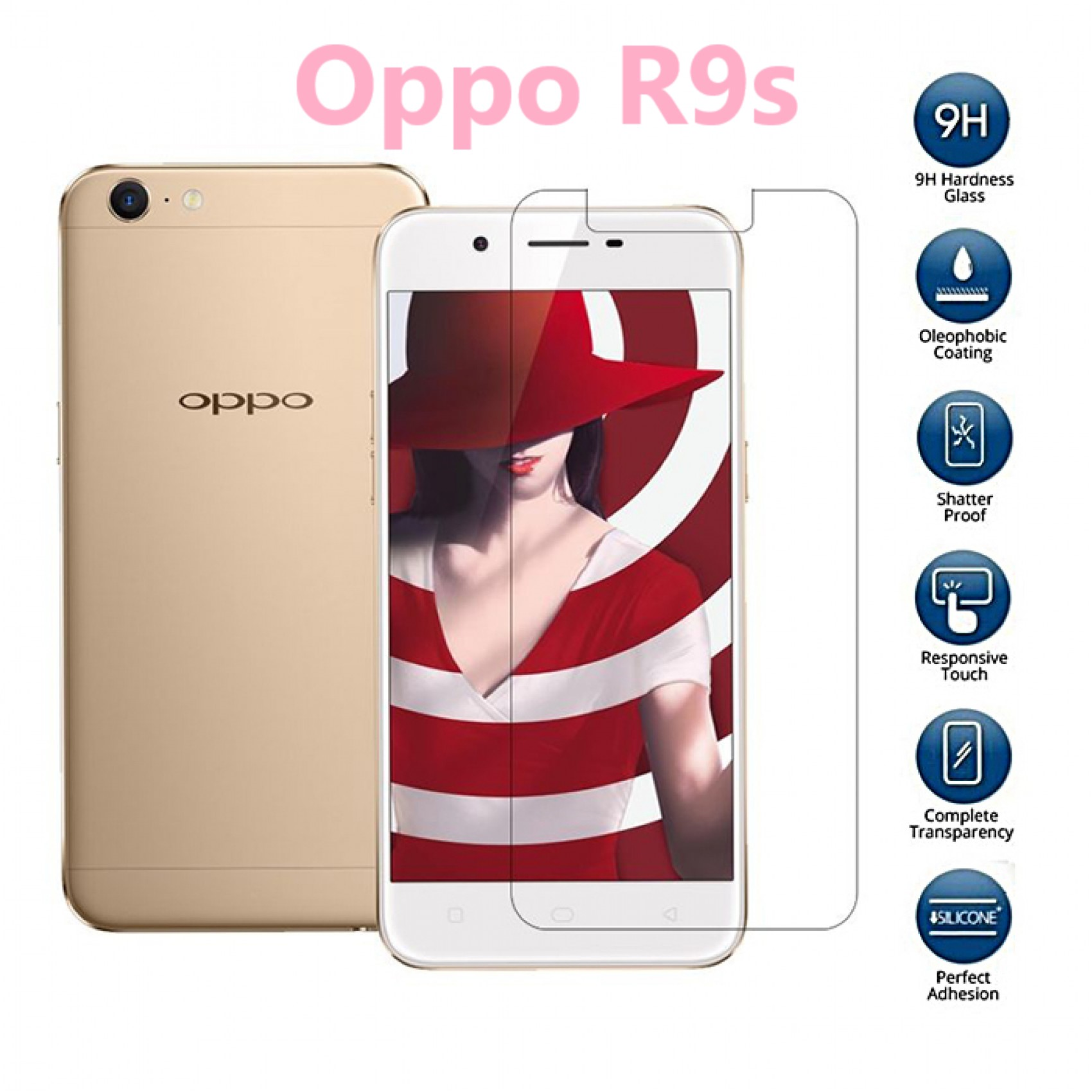 ฟิล์มกระจก Oppo R9s
