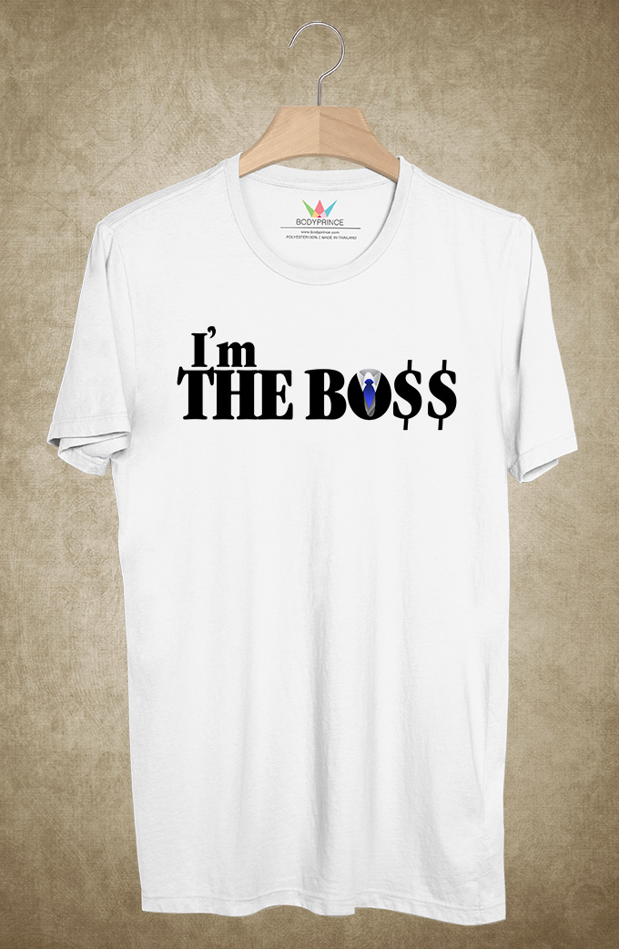 BP380 เสื้อยืด I AM THE BO$$