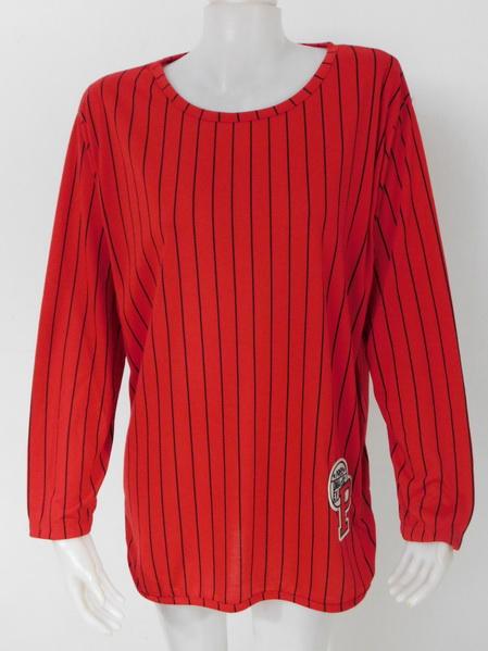 1009233 ขายส่งเสื้อผ้าแฟชั่นเสื้อยืดแขนยาว ผ้าเนื้อดีใส่สบายๆค่ะ งานสวยค่ะ รอบอก 40 นิ้ว/ฟรีไซส์ ยาว 31 นิ้ว