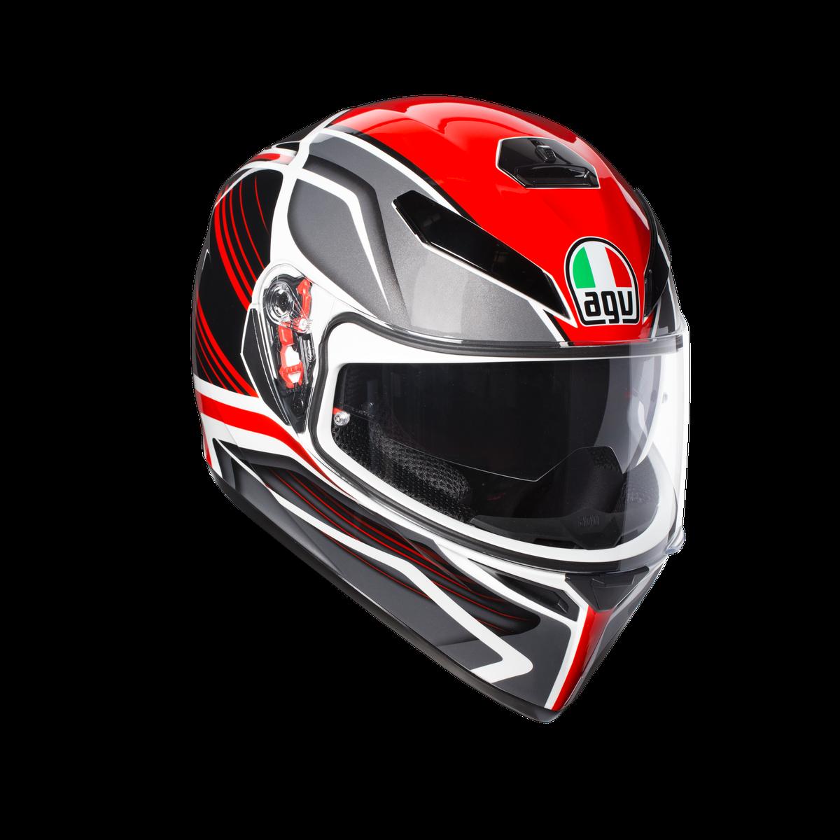 AGV K3-SV PROTON BLACK RED