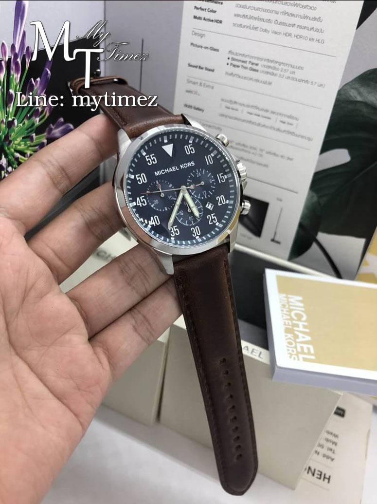 นาฬิกาข้อมือ MICHAEL KORS รุ่นGage Chronograph Blue Dial Men's Watch MK8362