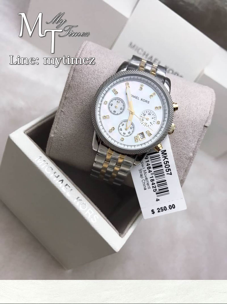 นาฬิกาข้อมือ MICHAEL KORS รุ่น Ladies Two-tone Bracelet WatchLadies MK5057