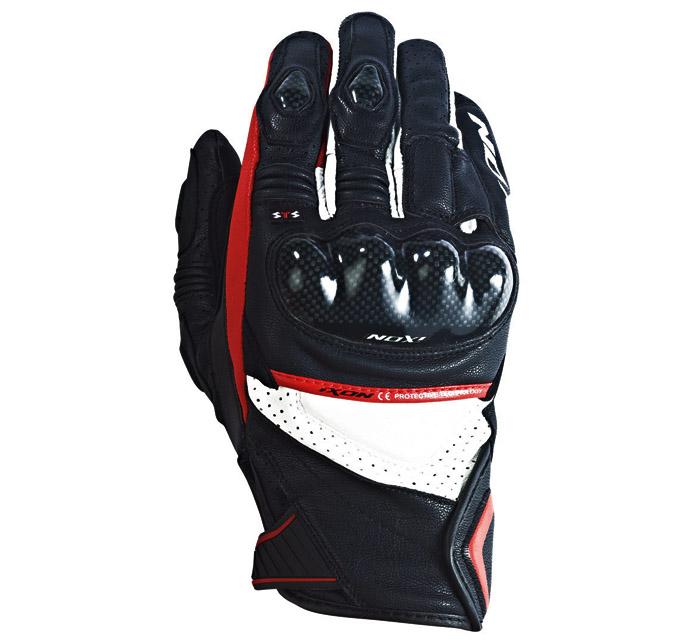 IXON RS PISTO HP - BLACK/WHITE/RED