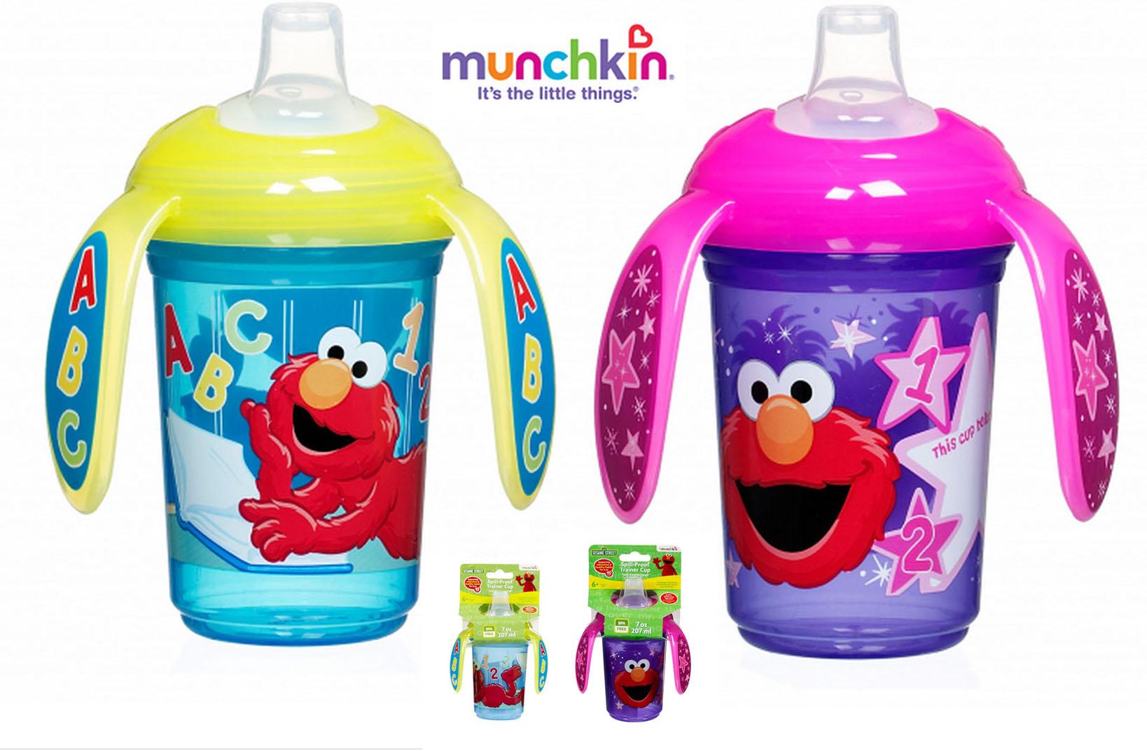 แก้วหัดดื่ม Sesame Street Munchkin